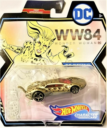 Picture of HOT WHEELS CHARACTER CARS WONDER WOMAN- THE CHEETAH NEW
