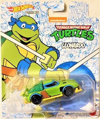Picture of HOT WHEELS CHARACTER CARS TMNT- LEONARDO NEW