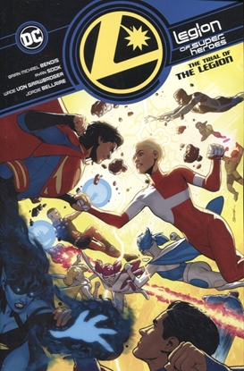Picture of LEGION OF SUPER-HEROES VOL 2 TRIAL OF THE LEGION TP