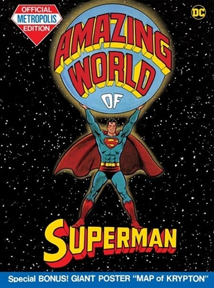 Picture of AMAZING WORLD OF SUPERMAN (TABLOID EDITION) HC