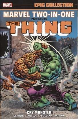 Picture of MARVEL TWO IN ONE EPIC COLLECTION TP CRY MONSTER NEW PTG