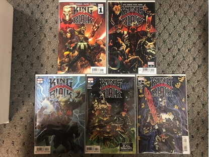 Picture of KING IN BLACK (2020) #1 2 3 4 5 / 1ST PRINT SET / DONNY CATES NM