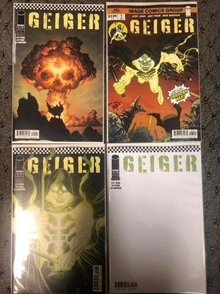 Picture of GEIGER (2021) #1 / COVER A B C D / GEOFF JOHNS GARY FRANK NM