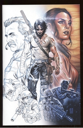 Picture of BRZRKR (BERZERKER) #1 / COVER E ONE PER STORE THANK YOU VARIANT NM+