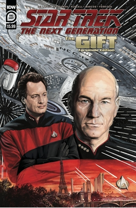 Picture of STAR TREK NEXT GENERATION THE GIFT