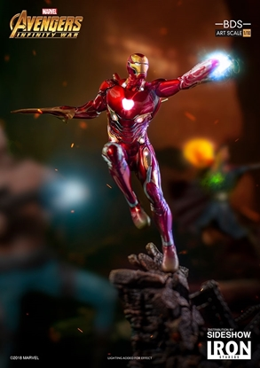 Picture of Iron Man Mark L 1:10 SCALE IRON STUDIOS STATUE