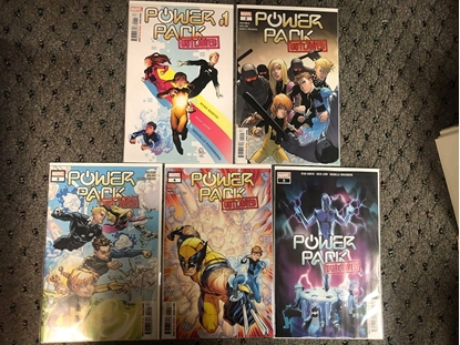 Picture of POWER PACK (2002) #1 2 3 4 5 / OUTLAWED 1ST PRINT SET