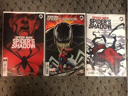 Picture of SPIDER-MAN SPIDERS SHADOW #1 / 1ST PRINT + RON LIM + FERRY VARIANT SET