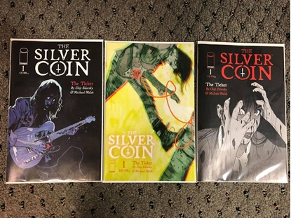 Picture of SILVER COIN (2021) #1 / 3-COVER SET / A B C / IMAGE COMICS NM