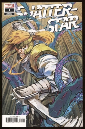 Picture of SHATTERSTAR #1 (OF 5) 1:50 SHAVRIN VARIANT COVER