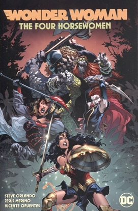 Picture of WONDER WOMAN VOL 4 THE FOUR HORSEWOMEN TP