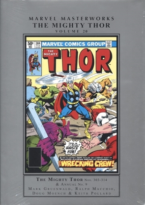 Picture of MARVEL MASTERWORKS MIGHTY THOR HC VOL 20