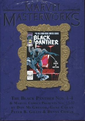 Picture of MARVEL MASTERWORKS BLACK PANTHER HC VOL 3 DM VAR ED 303