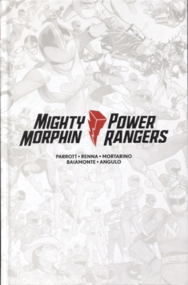 Picture of MIGHTY MORPHIN / POWER RANGERS #1 LTD ED HC