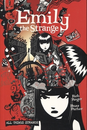 Picture of COMPLETE EMILY THE STRANGE ALL THINGS STRANGE 2ND ED TP