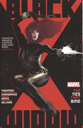 Picture of BLACK WIDOW BY KELLY THOMPSON TP VOL 1 TIES THAT BIND