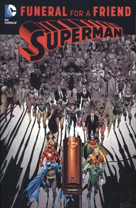 Picture of SUPERMAN FUNERAL FOR A FREIND TP