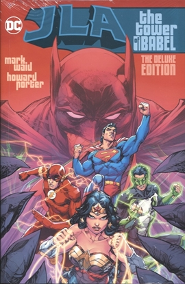 Picture of JLA THE TOWER OF BABEL THE DELUXE EDITION HC