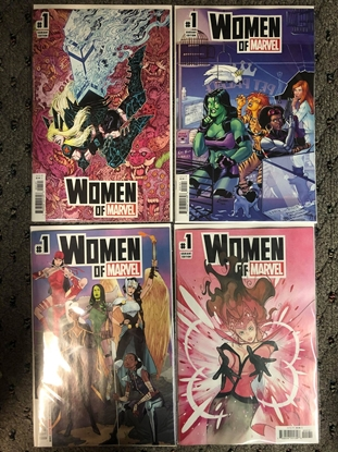 Picture of 4x WOMEN OF MARVEL #1 / A B C D MOMOKO + CONNER + WOLF