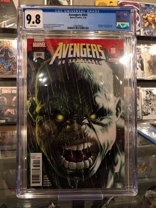 Picture of AVENGERS #684 / 1ST IMMORTAL HULK / BROOKS COVER / CGC 9.8 NM/MT