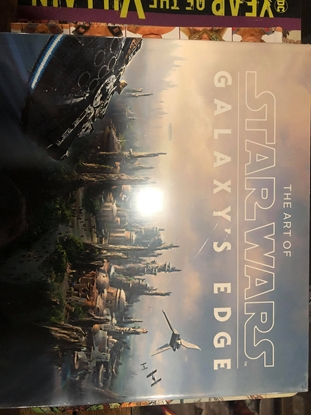 Picture of ART OF STAR WARS GALAXYS EDGE HC
