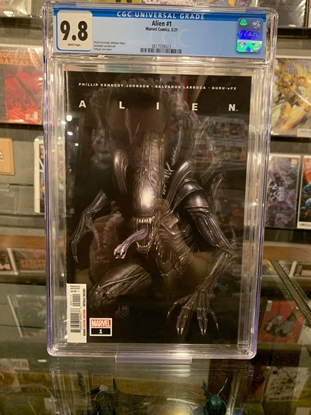 Picture of ALIEN (2021) #1 CGC 9.8 1ST PRINT INHYUK LEE COVER WP