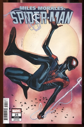 Picture of MILES MORALES SPIDER-MAN #25 PICHELLI VARIANT