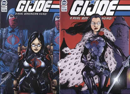 Picture of GI JOE #280 / COVER A & B VARIANT SET / IDW NM UNTOLD TALES