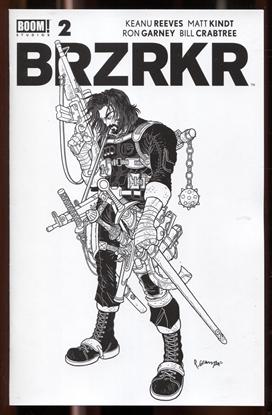 Picture of BRZRKR (BERZERKER) #2 / GRAMPA SECRET VARIANT COVER NM+