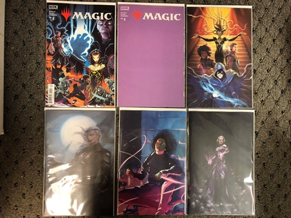 Picture of 6X MAGIC THE GATHERING (MTG 2021) #1 BOOM!