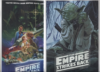 Picture of 2x STAR WARS EMPIRE STRIKES BACK 40TH ANNIVERSARY #1 SPROUSE COVER SET