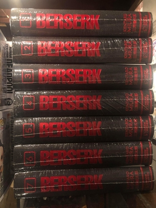 Picture of BERSERK DELUXE EDITION HC VOLUME 1 2 3 4 5 6 7 / NEW-SEALED SET