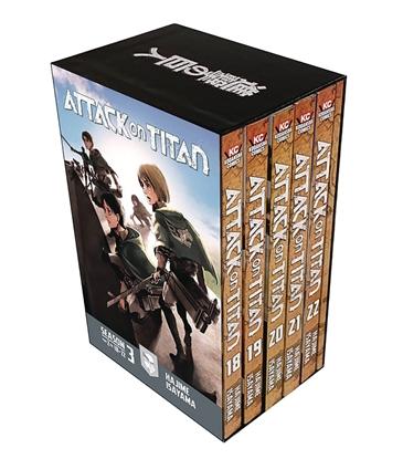 Picture of ATTACK ON TITAN SEASON THREE BOX SET VOL 2