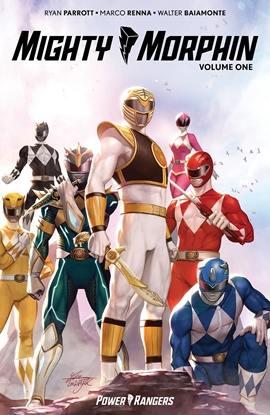 Picture of MIGHTY MORPHIN TP VOL 1