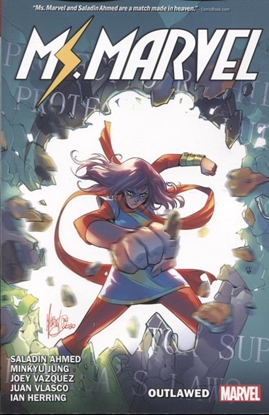 Picture of MS MARVEL BY SALADIN AHMED TP VOL 3 OUTLAWED