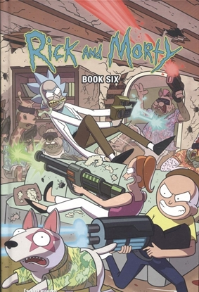 Picture of RICK AND MORTY HC BOOK 6 DELUXE ED (MR)