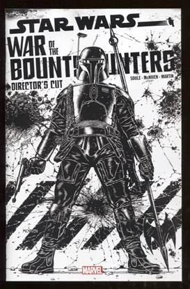 Picture of STAR WARS BOUNTY HUNTERS ALPHA DIRECTOR CUT #1 SKETCH VARIANT