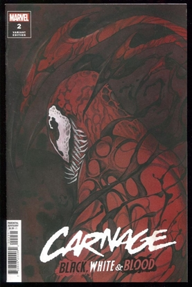 Picture of CARNAGE BLACK WHITE AND BLOOD #2 (OF 4) MOMOKO VAR