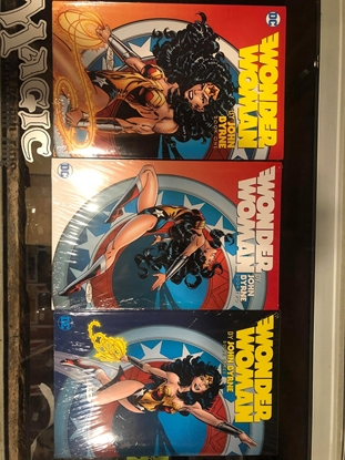 Picture of WONDER WOMAN BY JOHN BYRNE HC VOLUME 1 2 3 SET / NEW-SEALED