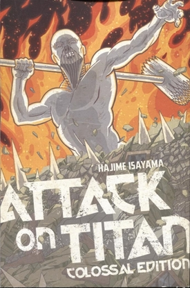 Picture of ATTACK ON TITAN COLOSSAL ED TP VOL 5