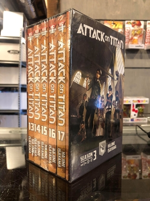 Picture of ATTACK ON TITAN SEASON THREE BOX SET VOL 1