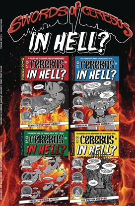 Picture of SWORDS OF CEREBUS IN HELL TP VOL 1