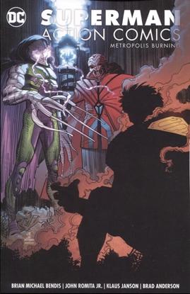 Picture of SUPERMAN ACTION COMICS VOL 4 METROPOLIS BURNING TP