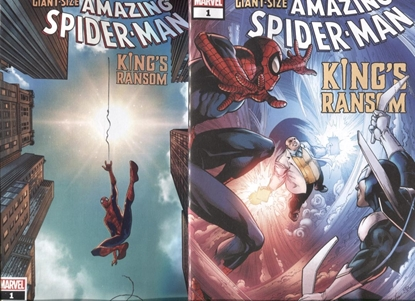 Picture of GIANT-SIZE AMAZING SPIDER-MAN KINGS RANSOM #1 / COVER A & B