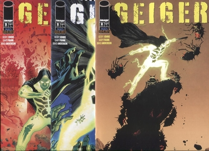 Picture of 3x GEIGER #2 / COVER A B C VARIANT SET / GEOFF JOHNS NM