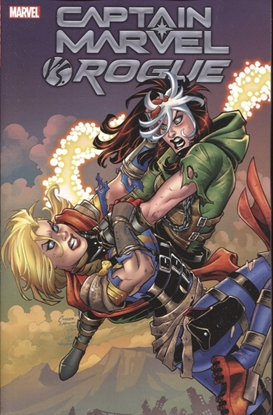 Picture of CAPTAIN MARVEL VS ROGUE TP