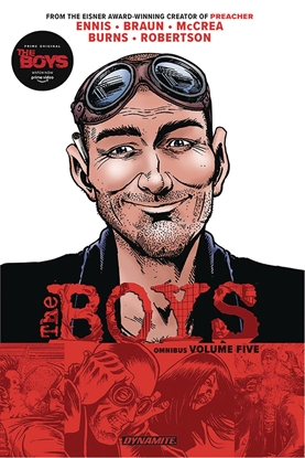 Picture of BOYS OMNIBUS TP VOL 5 ROBERTSON SIGNED EDITION