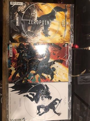 Picture of 3x BATMAN FORTNITE ZERO POINT #3 / COVER A B C VARIANT SET WITH CODE SEALED