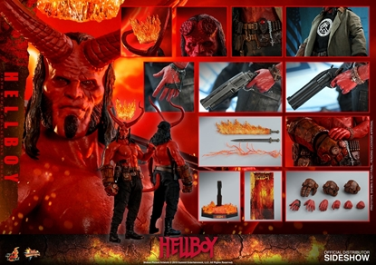 Picture of HOT TOYS HELLBOY (2019) MOVIE MASTER PIECE COLLECTION MMS527
