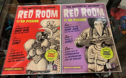 Picture of RED ROOM (2021) #1 CVR A & 1:5 VARIANT COVER SET NM